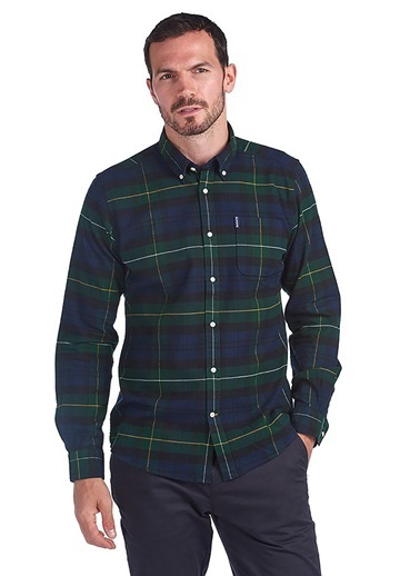 Barbour Gömlek Yeşil
